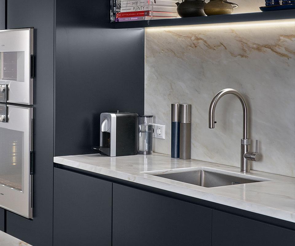 Kraan in keuken | Villa Breda
