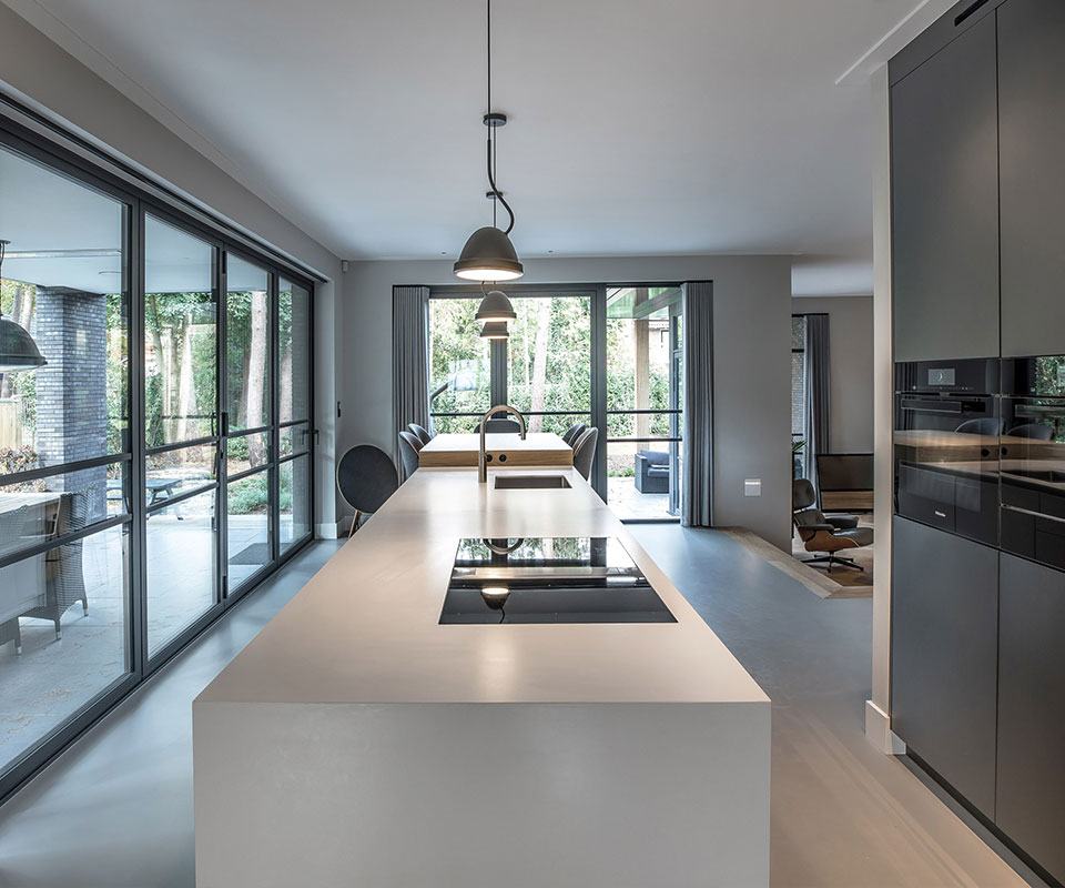 Leef keuken   Villa Utrecht