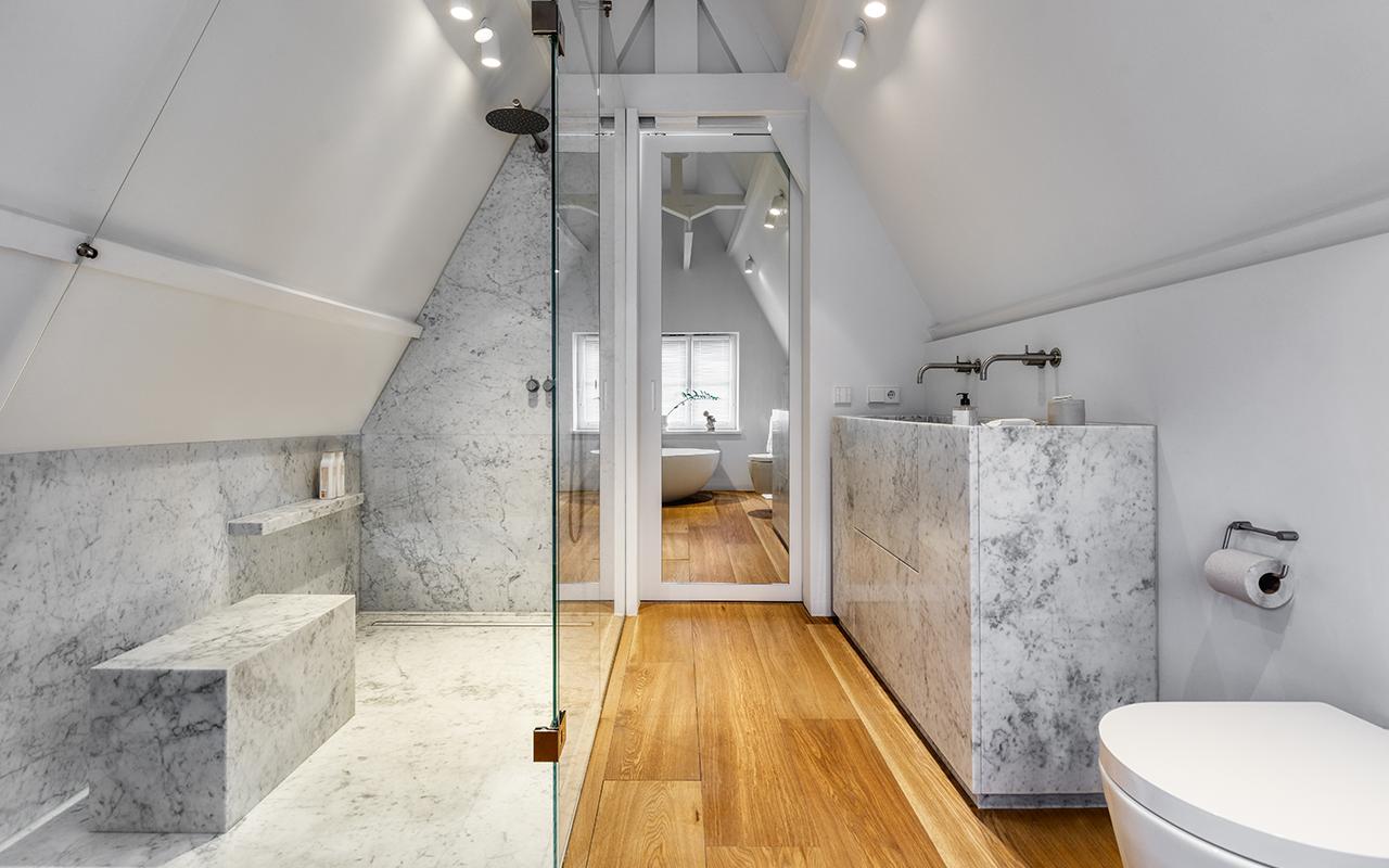 badkamer Oude looierstraat Amsterdam