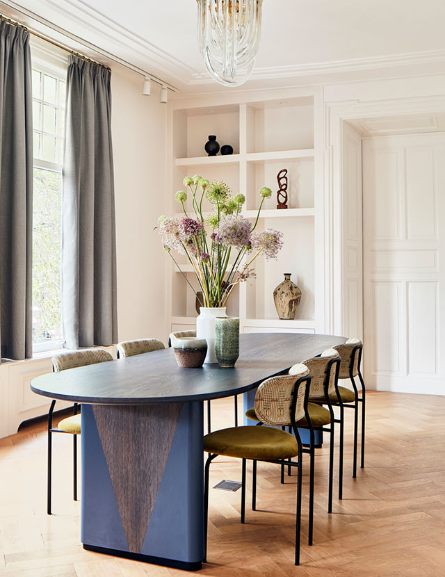 Villa Amsterdam | Woonkamer tafel